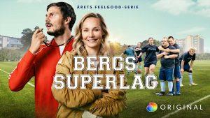 Carina och Erik Berg tränar eget fotbollslag i nytt program